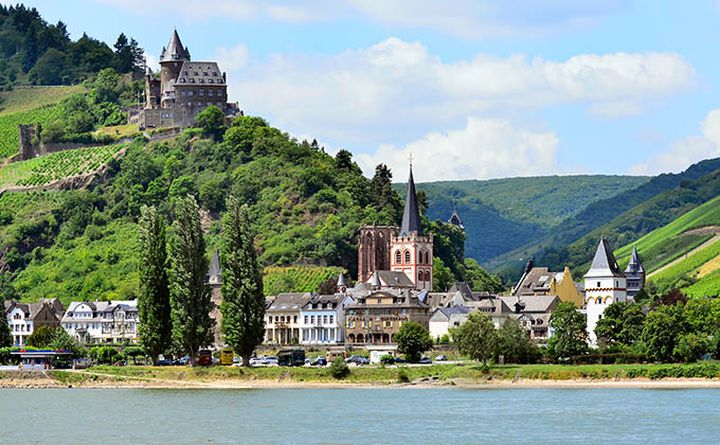 The Rheinvalley in Germany
