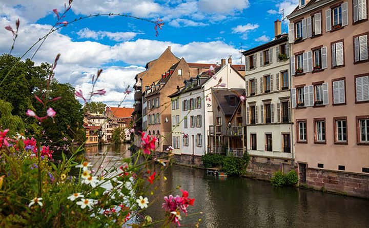 Strasbourg - The Rhine Cycle Route