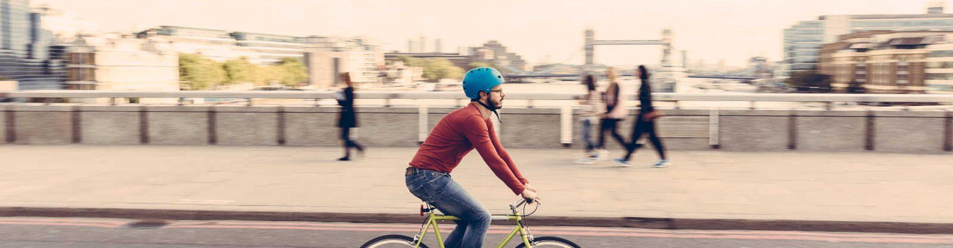 Coole Radrouten in den 10 größten Städten Europas