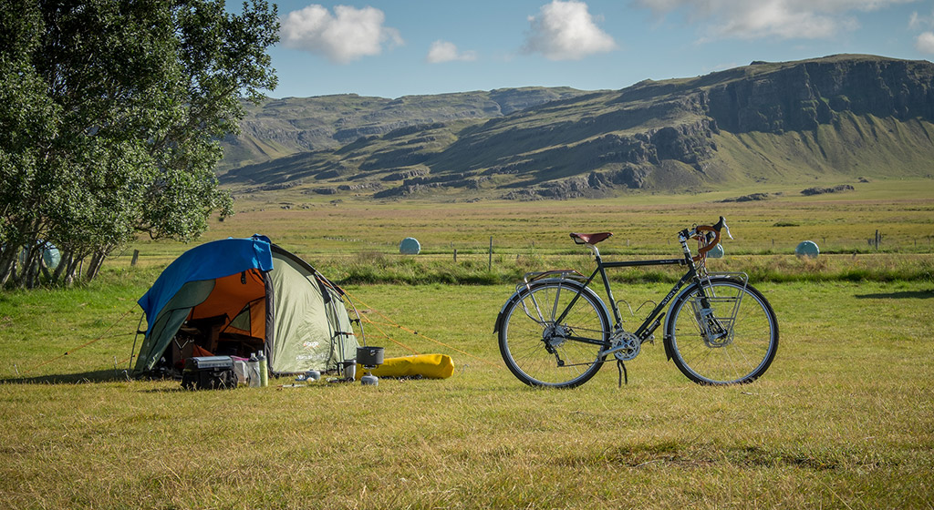 Cycling routes in 2: Camping in Iceland is a good way to go on a budget