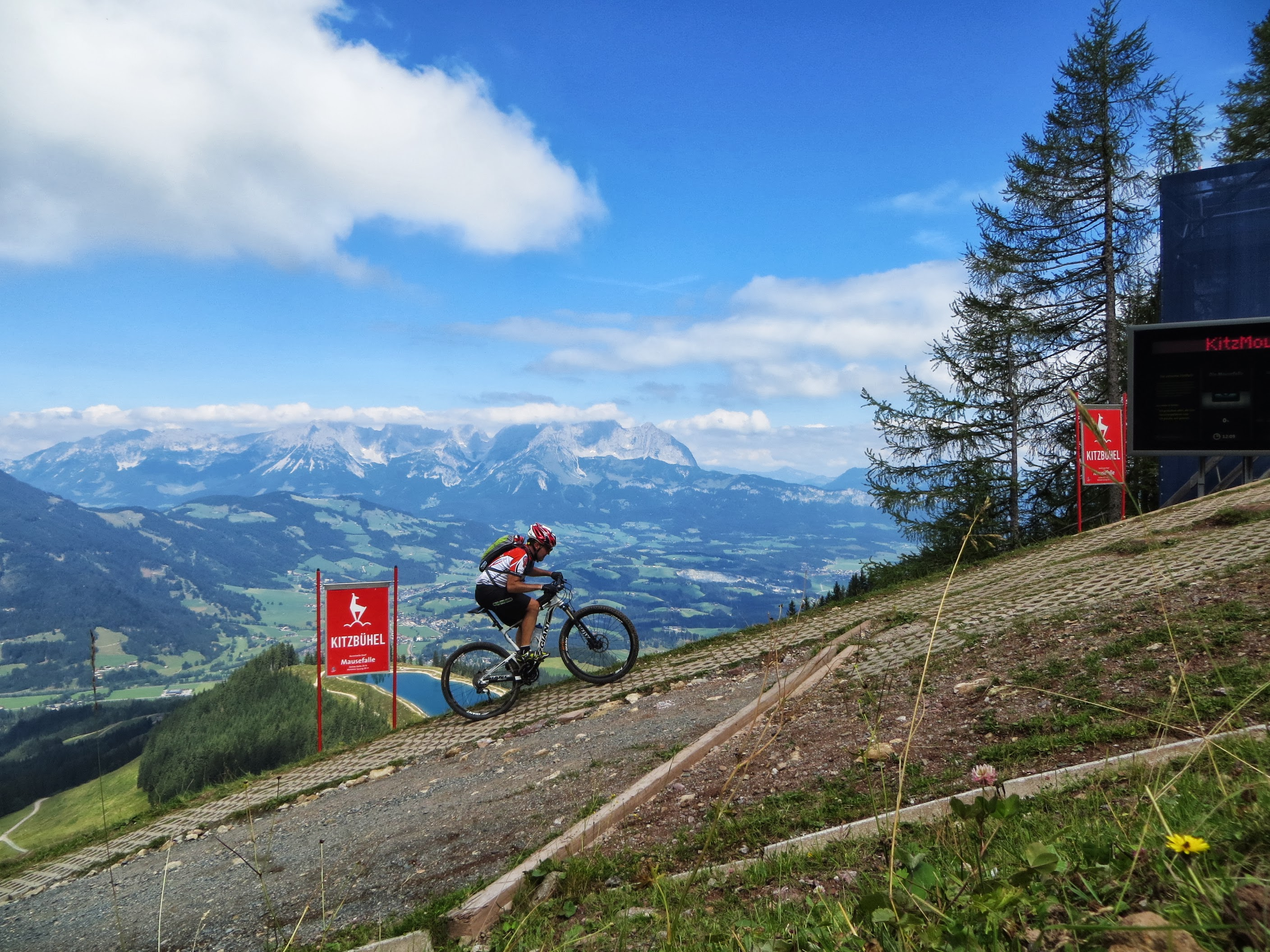 Cycling routes in Austria - Hahnenkamm