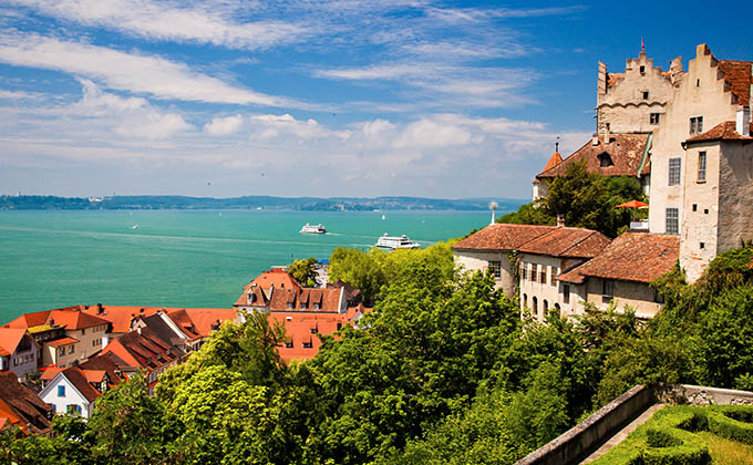 Meersburg and Lake Constance
