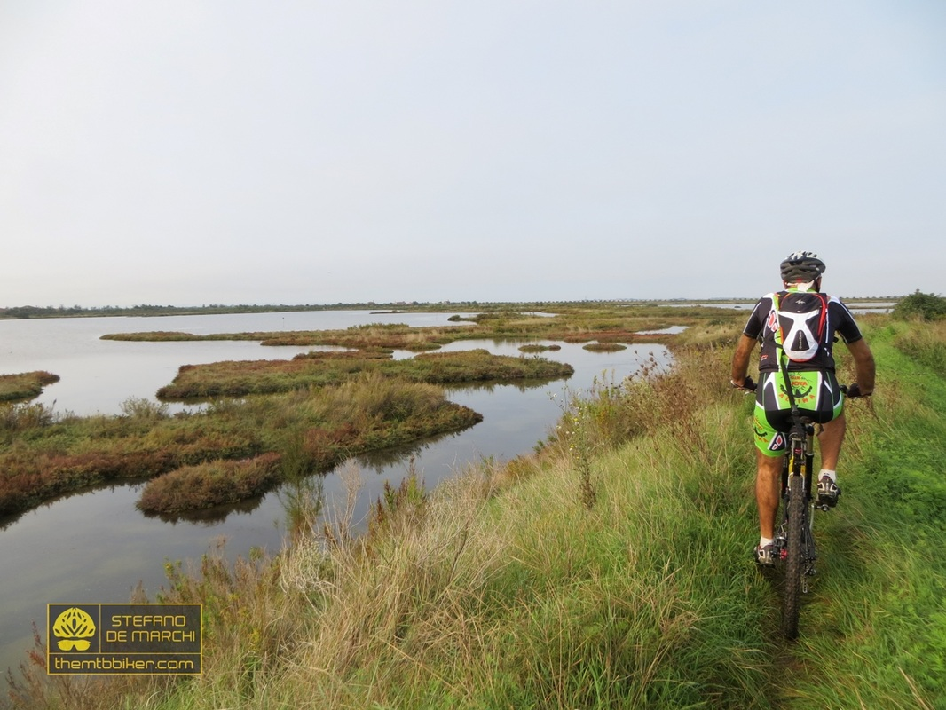 Cycling routes in Venezia - Coast and Lagoon