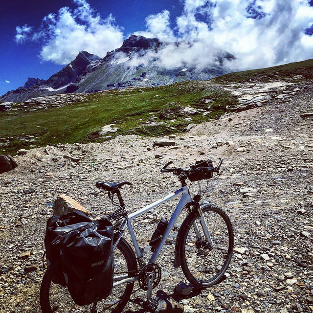 Cycling routes in Altitude