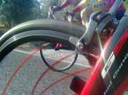 ciclismo bajo el sol