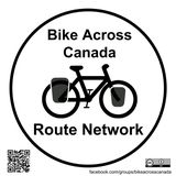 Bike Across Canada Route Network