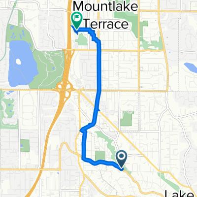 2641–2705 NE Perkins Way, Lake Forest Park to 6004 232nd St SW, Mountlake Terrace