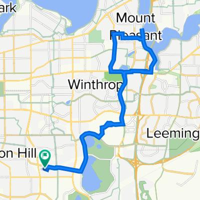 32 Forillion Avenue, Bibra Lake to 32 Forillion Avenue, Bibra Lake