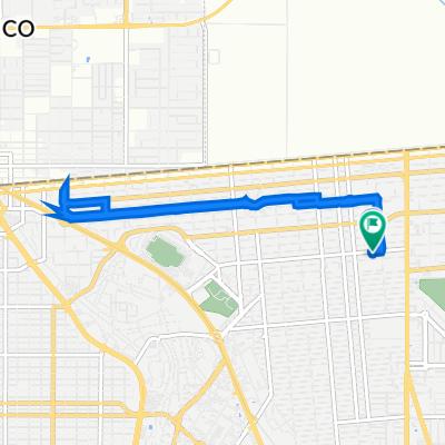 De Avenida José María Larroque 1973, Mexicali a Avenida José María Larroque 1972, Mexicali