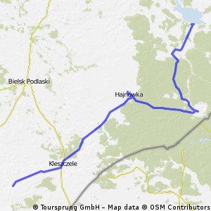 wyprawa 2 dzien 94,8 km