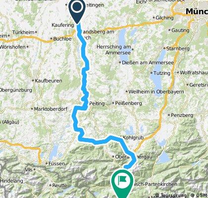 Via Claudia Augusta Hlatenberg-Garmisch
