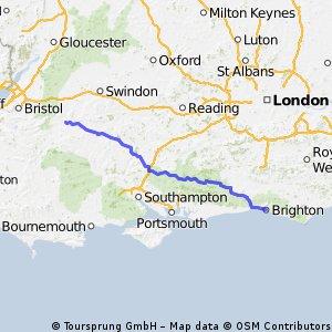 Brighton TO Melksham ride