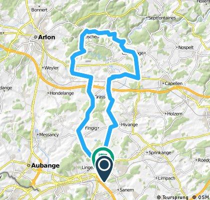 Bascharage - Aischen - Habscht