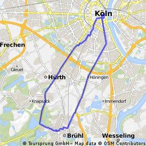 Brühl-Köln-Brühl