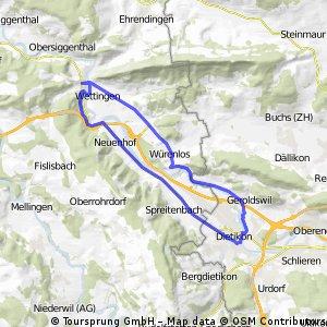 Dietikon_Baden_Dietikon_route66