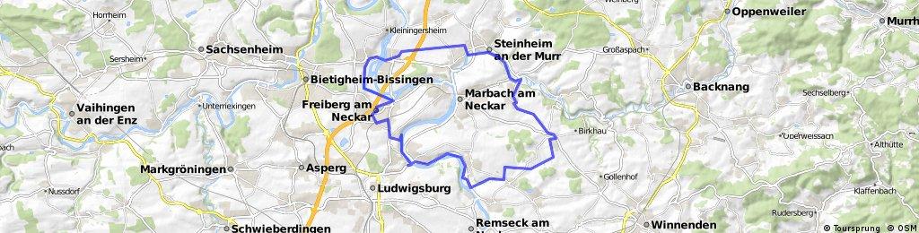 Ludwigsburg - Freiberg - Murr- Affalterbach