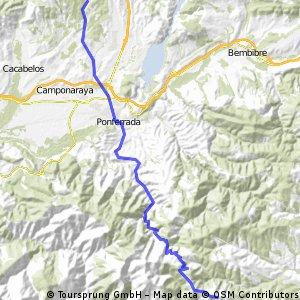 AST-LEONESA 09- Ponferrada-MORREDERO-PORTINILLAS-LLANO DE LAS OVEJAS