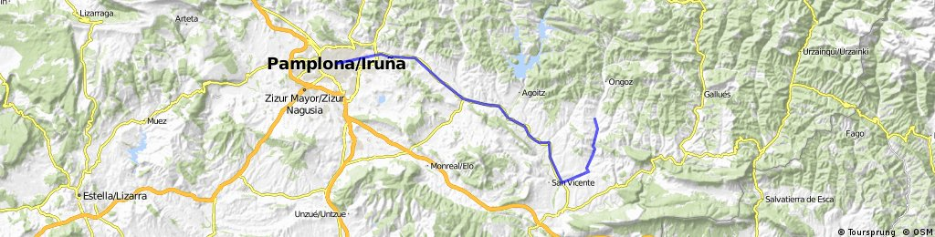 Aizkurgui-Iruñea