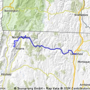 Greenfield to Mount Greylock