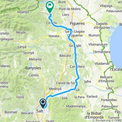 Girona - Terrades