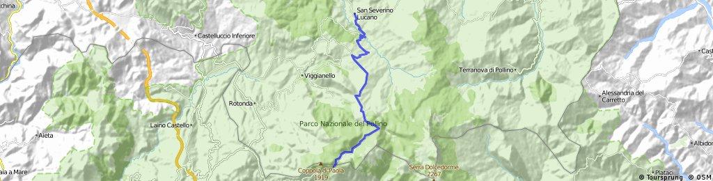 San Severino Lucano - Monte Pollino