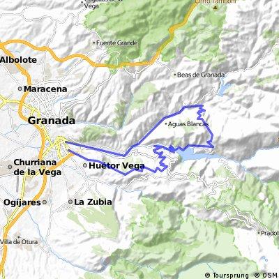 GR-Quentar-Guejar-Pinos-Purche-CtaDesmayo-GR