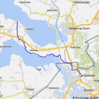 Cyklovýlet Amsterdam - Brussel - 6.den