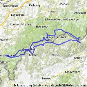 Westerzgebirgische Gipfeltour
