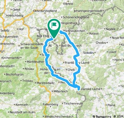 Reise zum Mittelpunkt Europas