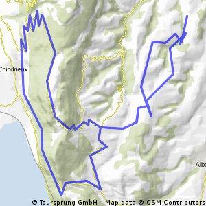 Col du Sapenay - Col de la Chambotte