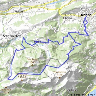 Biken am Luzerner Hausberg