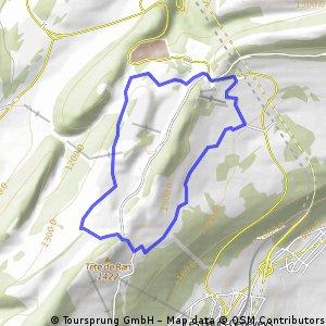 Spritz-Tour auf der Vue des Alpes