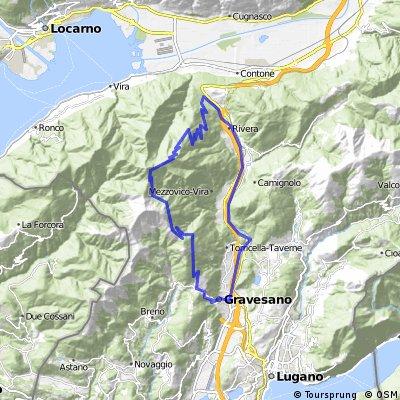 Der Monte Tamaro ist der Bike-Berg des Tessins