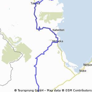 NZ 7 : Gloden Downs-A.Tasman National Park