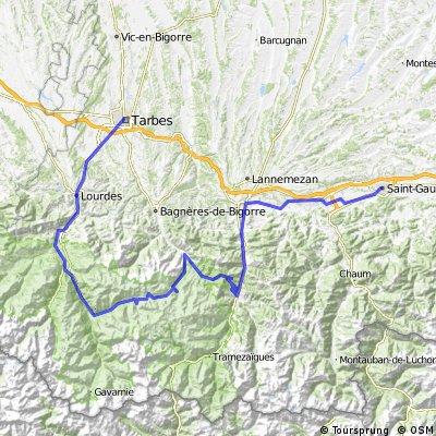 Etappe 09 Tour de France 2009 von Saint-Gaudens nach Tarbes
