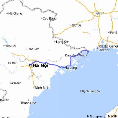 Hà Nội - Quốc lộ 18 - Quảng Ninh - Móng Cái