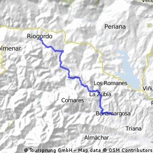 Benamargosa-Ríogordo