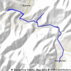 Carpathian Peaks. Route 1.