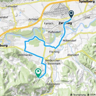 Zeltweg - Maria Buch - Eppenstein - Zeltweg Teil1