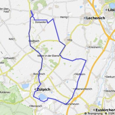 Nörvenich - Zülpich - Niederberg - Nörvenich