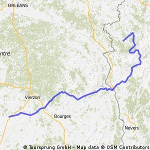Etappe 11 Tour de France 2009 von Vatan nach Saint-Fargeau