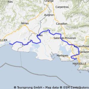 Etappe 03 Tour de France 2009 von Marseille nach La Grande-Motte