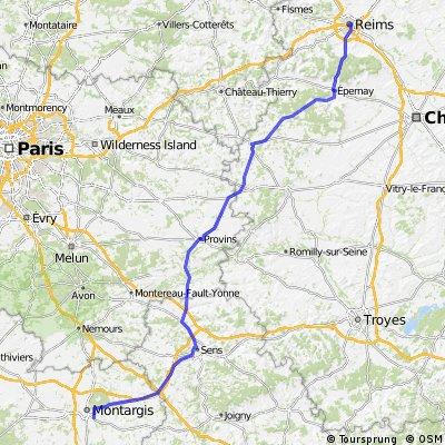 3.Etappe Bocholt Aurillac
