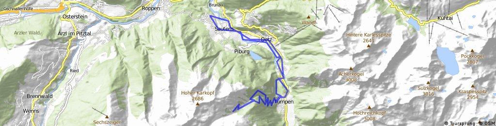 Ötztal, Armelenhütte + Trail