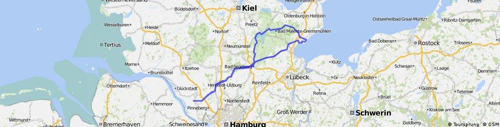 GroßNordende-Neustadt an der Ostsee-Malente-GroßNordende