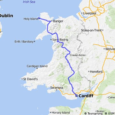Holyhead to Cardiff Charity Ride