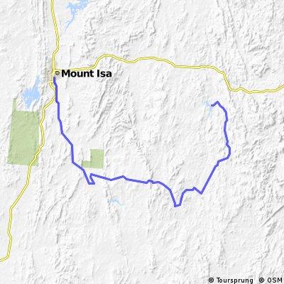 Mount Isa to East Leichhardt Dam Backway