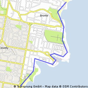 Coogee to Bondi, go home with a bus.