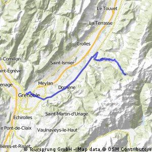 Grenoble - Pas de la coche