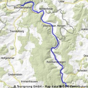 Etappe-001-13.05.11 - Hann. Münden-Bad Karlshaven